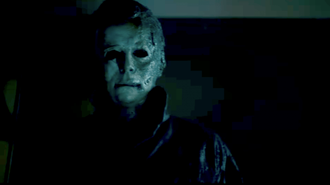 A still of Michael Myers in Halloween Kills, the horror sequel scheduled with a 2021 release date from Universal and Blumhouse.