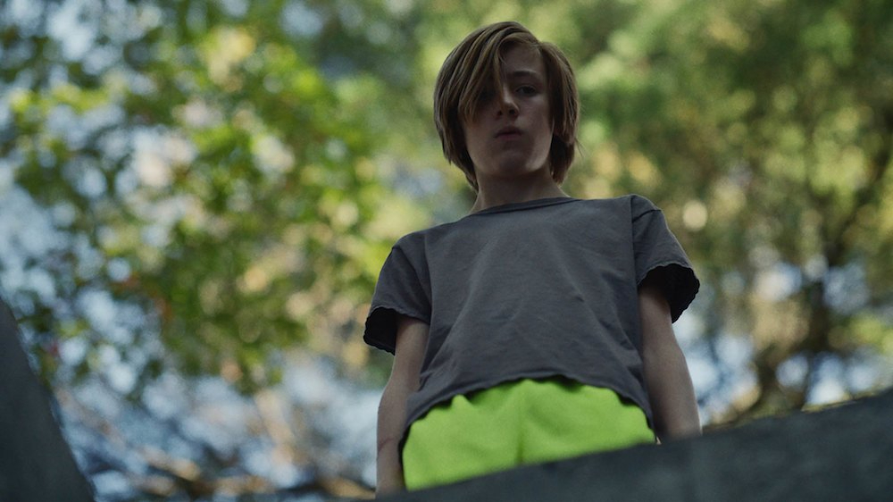 Charlie Shotwell as the title character in John and the Hole, a new horror film from the 2021 Sundance Film Festival.