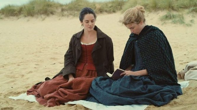 Adele Haenel and Noemie Merlant in A Portrait of a Lady on Fire.