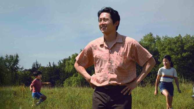 Steven Yeun as seen in the A24 Oscar nominated film Minari.
