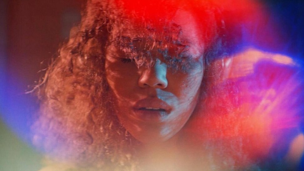 Jasmin Savoy Brown as seen in the SXSW 2021 horror film Sound of Violence.