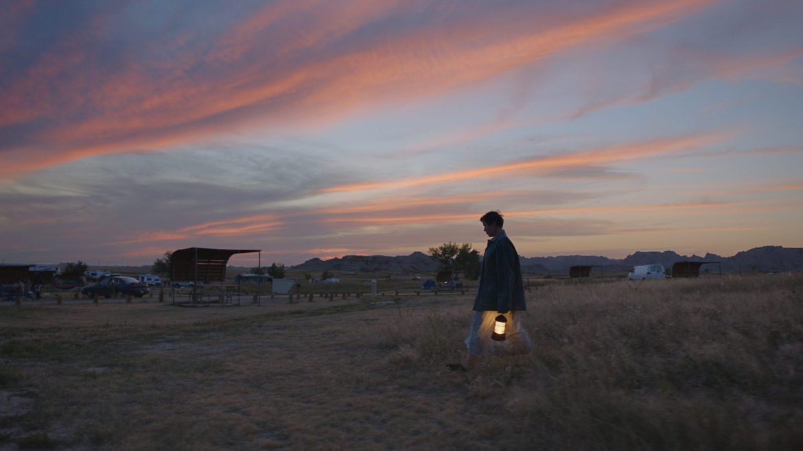 A still from Nomadland, one of the big winners of the 2021 Oscars.