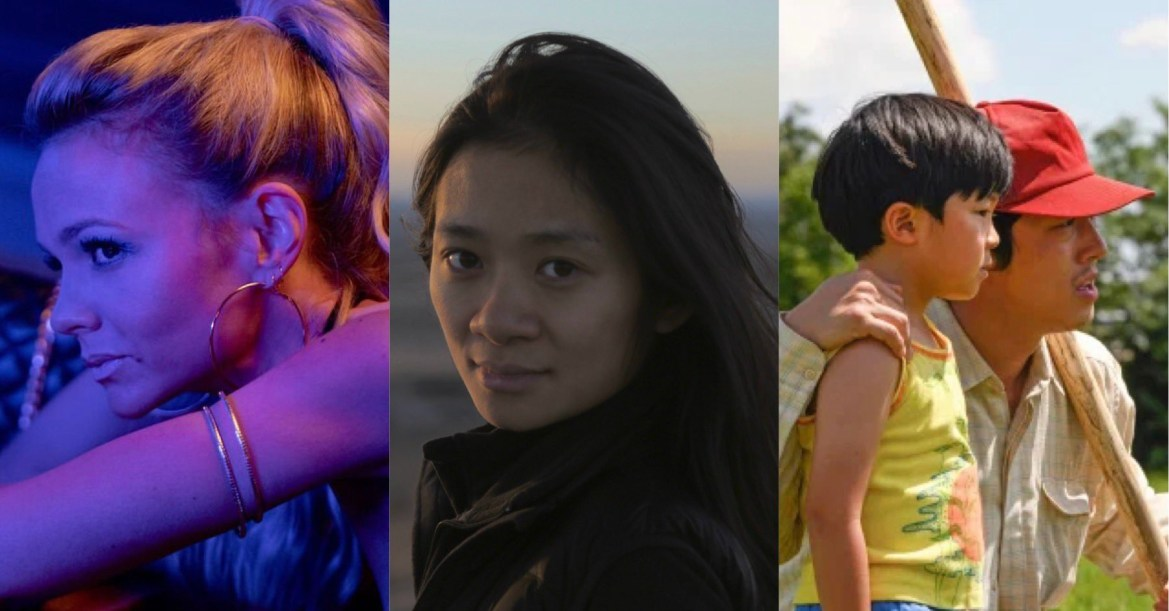 A collage of Promising Young Woman, director Chloé Zhao, and Minari, all in our final predictions for the 2021 Oscars.