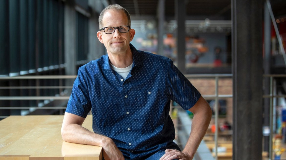 Pete Docter, the famous director of Soul and Chief Creative Officer of Pixar.