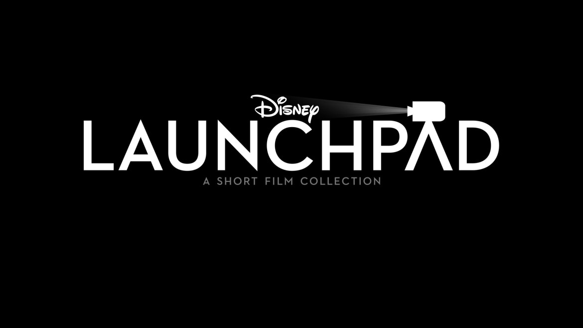 The official logo for the Disney Launchpad short film series exclusive to Disney+.