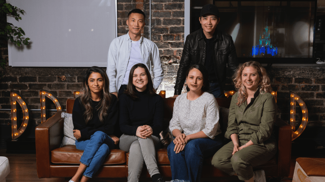 The six filmmakers chosen for the first season of Disney's Launchpad program, a new series of short films that are set to focus on diversity and inclusivity through one centered them of Discovery.