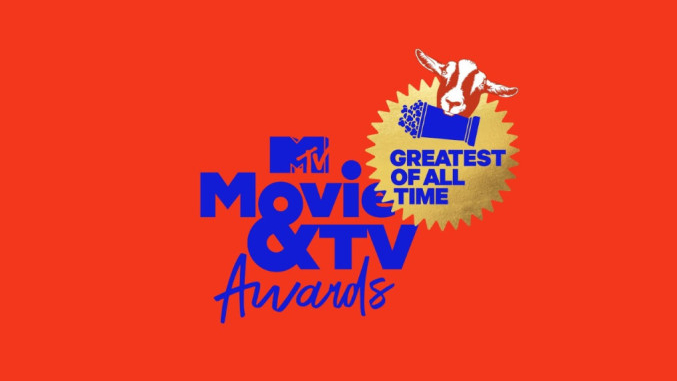 The logo for the 2021 MTV Awards full of new winners selected only by the fans.