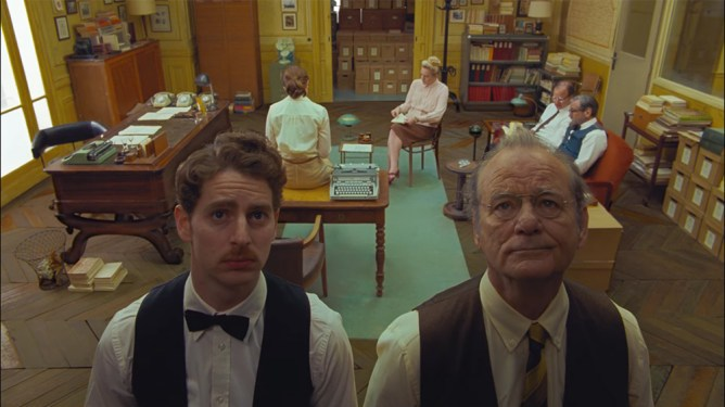 Wes Anderson's The French Dispatch, making our list of early predictions for the 2022 Oscars.