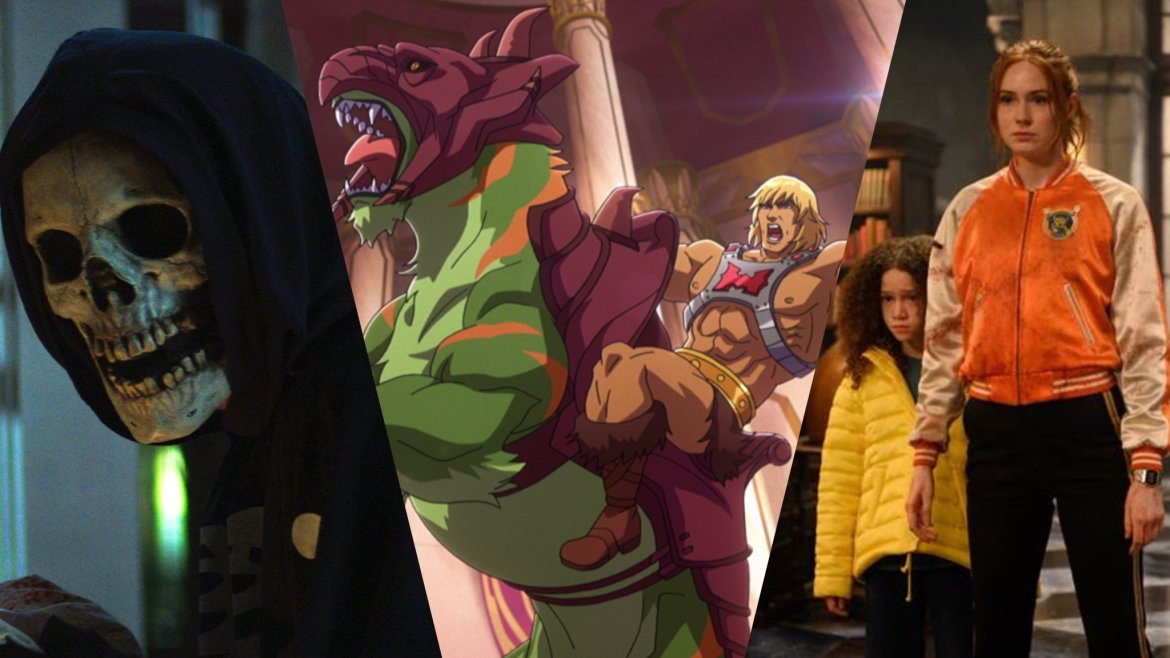 The Fear Street Trilogy, Masters of the Universe: Relevation, and Gunpowder Milkshake, all new originals coming to Netflix in July 2021.