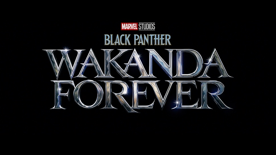 The official logo for BLACK PANTHER: WAKANDA FOREVER, which will be shot by cinematographer Autumn Durald.