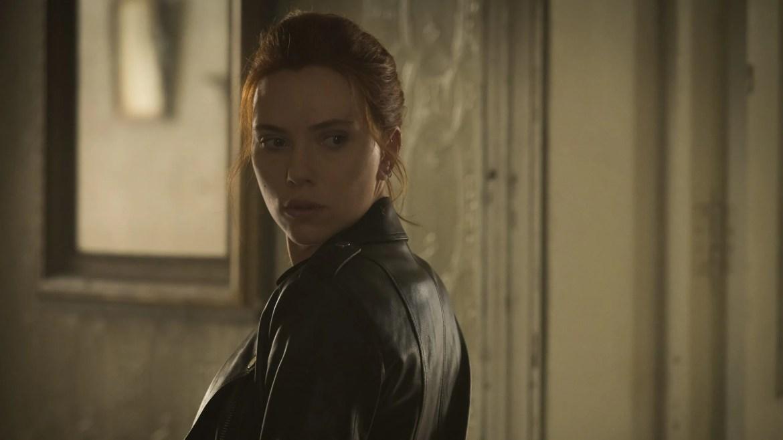 Scarlett Johansson as Natasha Romanoff as seen in BLACK WIDOW, the 24th film in the MCU.