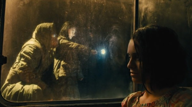Daniela Melchior as Ratcatcher II recalls her memories of being trained to control rats by her father as seen in THE SUICIDE SQUAD directed by James Gunn.
