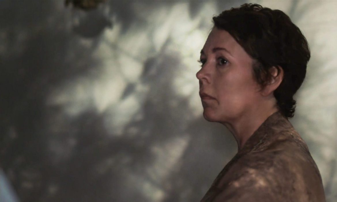 Olivia Coleman stars in THE LOST DAUGHTER directed by Maggie Gyllenhaal, coming soon to Netflix.