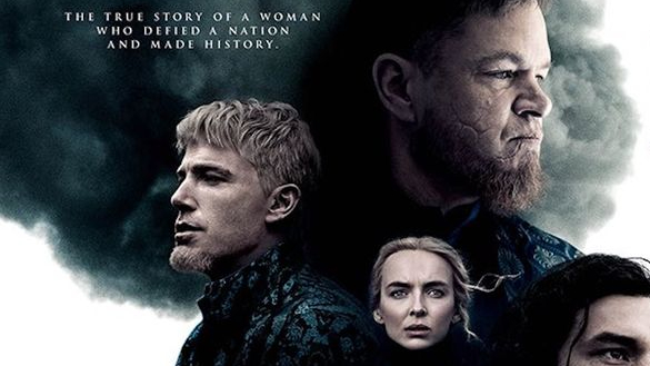Matt Damon, Ben Affleck, and Jodie Comer together as a trio on the main poster for THE LAST DUEL directed by Ridley Scott.