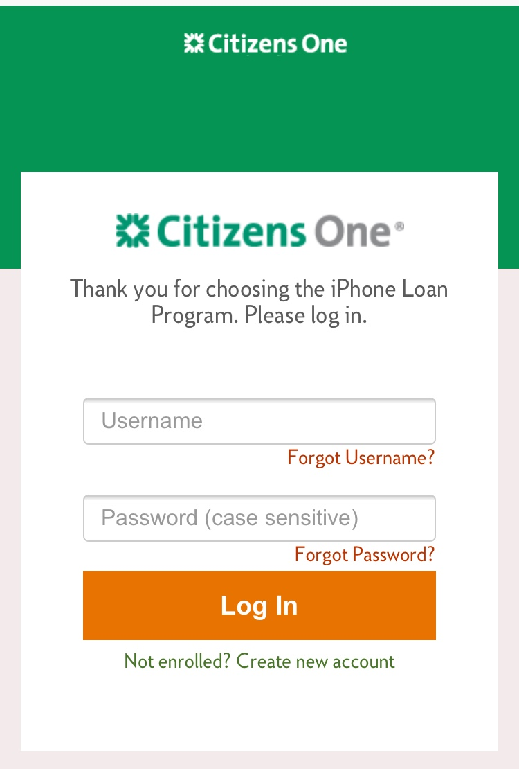 Citizens One Pay My Loan : citizens, Problem, Upgrading, Phone, Through, Upgr…, Apple, Community