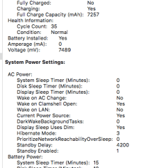 0 Amperage Macbook Battery 220v Single Phase Wiring Diagram Air 2011 Randomly Crashing Wont Apple Community I Dont See Anything Unusual That Would Indicate Failure Aside From My Computer Acting Up Any Help Be Appreciated As This Is Something Ve