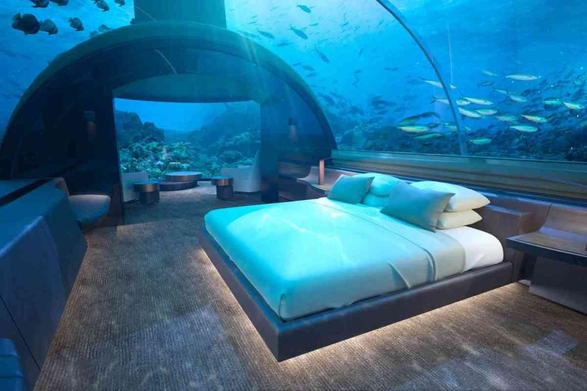 The world's first underwater hotel