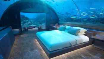 The world's first underwater hotel