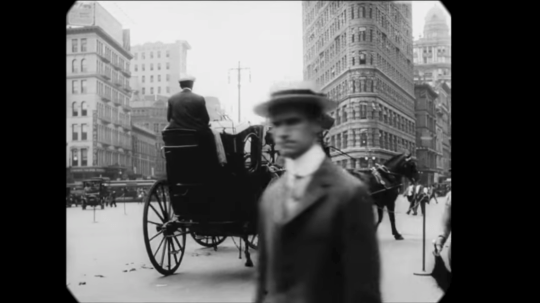 Time travel back to New York City, 1911