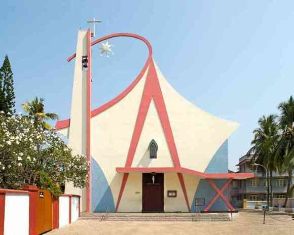 Churches built in post-colonial India