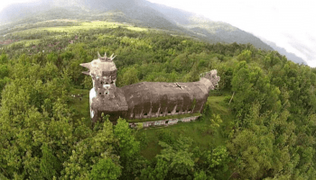 Spooky Indonesian church shaped like a chicken
