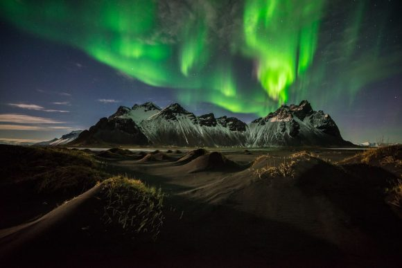 Iceland's Vestrahorn mountain
