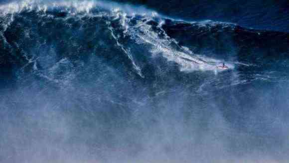 World Record: This is the biggest wave ever surfed