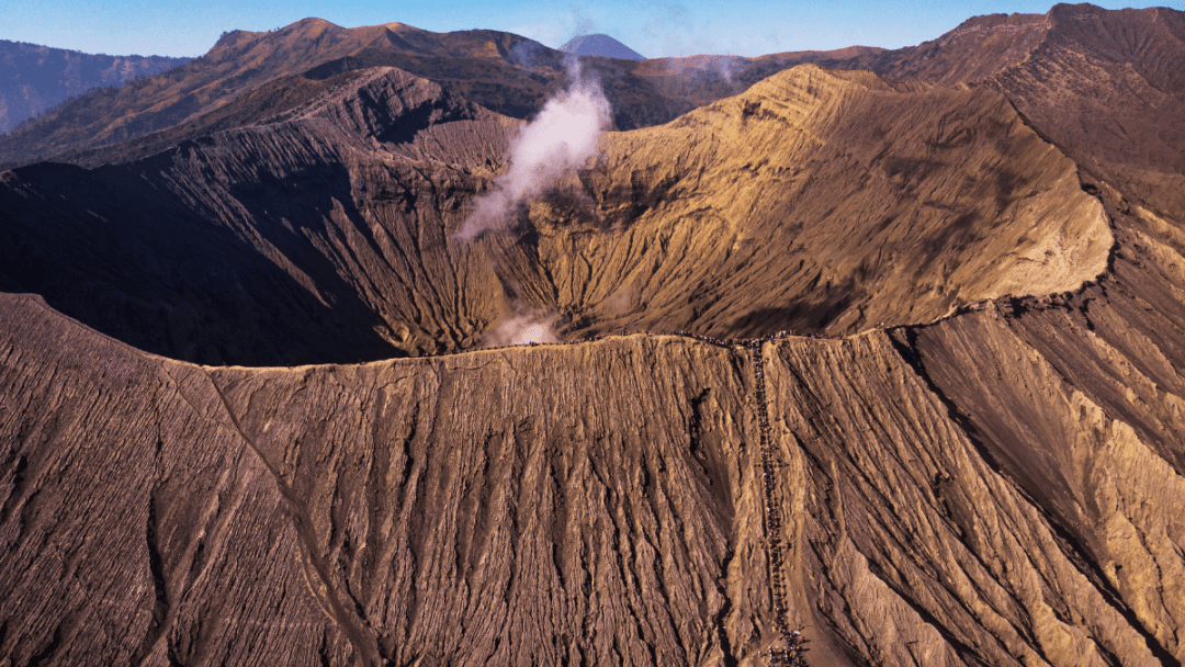 Mount Bromo Crater, East Java Indonesia