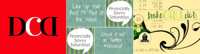 Financially Savvy Saturdays Blog Hop with Disease Called Debt and Broke Girl Rich