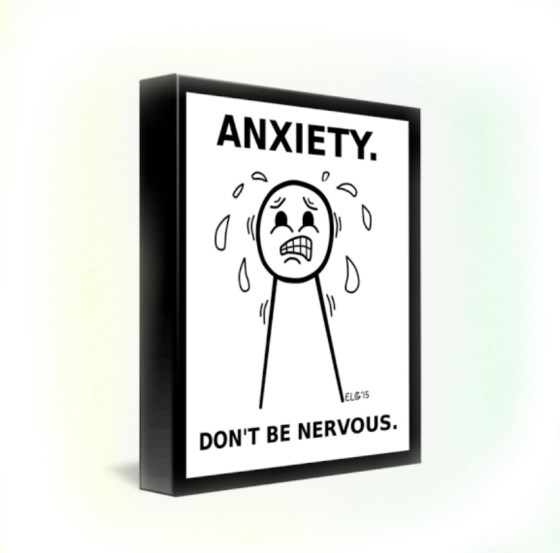 anxiety in hindi