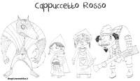 Disegno da colorare Personaggi Cappuccetto Rosso