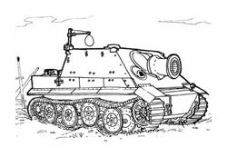 Carri armati da colorare
