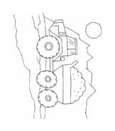 Macchine da cantiere da colorare