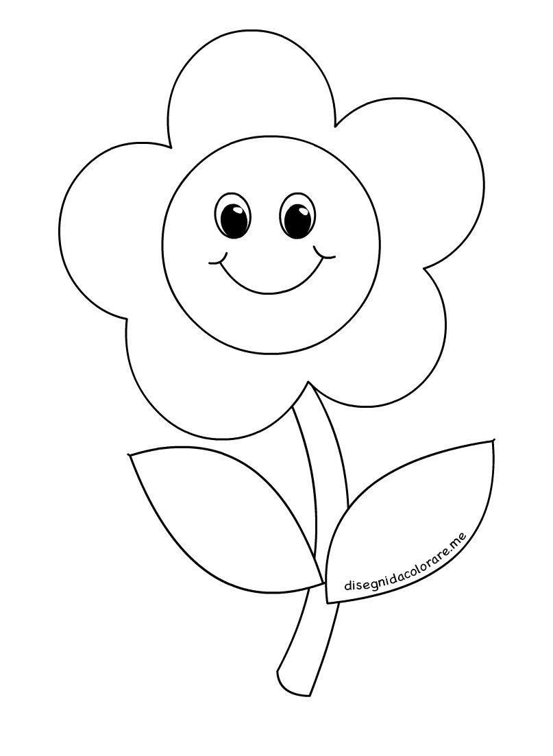 Disegni da colorare - Categoria: Fiori e piante - Infanziaweb
