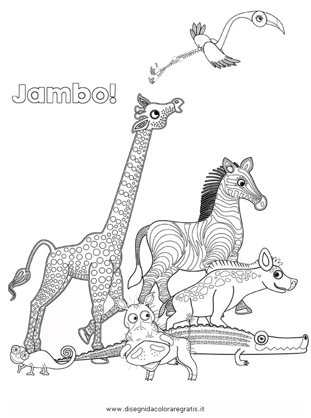 Tinga Tales Coloring Pages Sketch Coloring Page