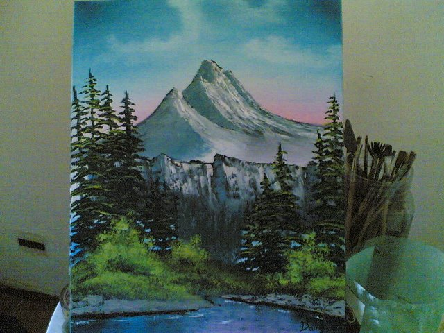 Paesaggio ad Olio  Disegno  Pittura