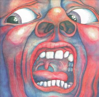 KING CRIMSON - In the Court of the Crimson King (1969) Diseñada por Barry Godber