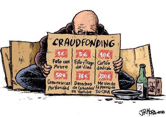 infografia crowdfunding fundraising hipocresia