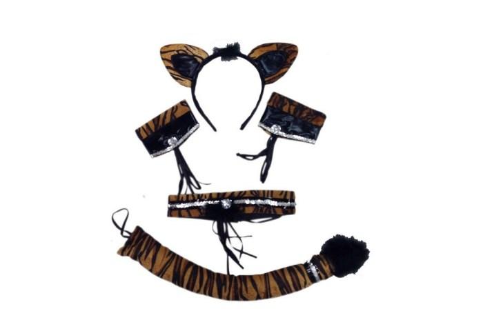 Conjunto Tigresa Sexy Comprar En Tienda Disfraces Bacanal
