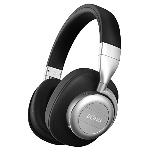 BÖHM Wireless Bluetooth Over Ear Cushioned Headphones with Active Noise Cancelling – B76