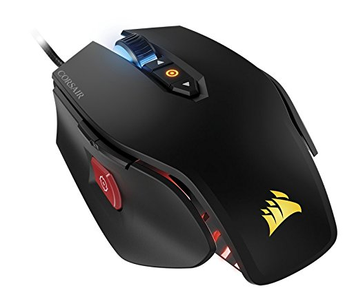 Corsair Gaming M65 Pro RGB FPS Gaming Mouse, Backlit RGB LED, 12000 DPI, Optical