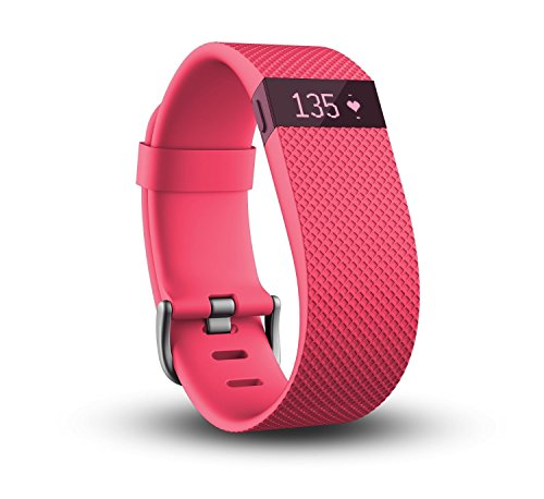 Fitbit Charge HR Wireless Activity Wristband (Pink)