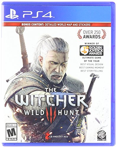The Witcher : wild hunt para PS4