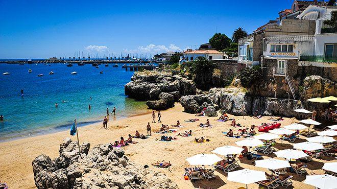 Playas cerca de Lisboa: Praia da Rainha