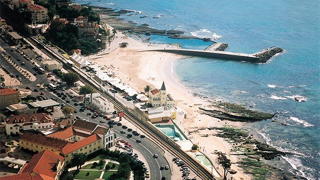 Playas cerca de Lisboa: Praia do Tamariz