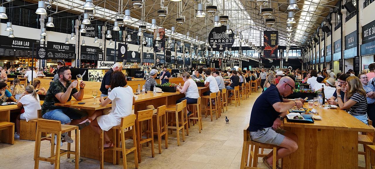 Mercado Ribeira: Time Out Market Lisboa