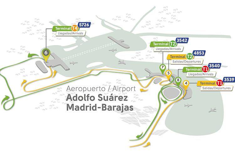 Linea expres aeropuerto EMT Madrid