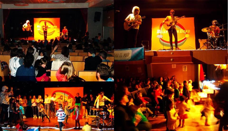 Concierto Solidario de la Billy Boom Band en Galizano