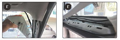 Vous pouvez faire la pose du câblage à la fois sur le rack gauche et droit (facultatif).