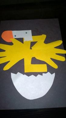 E is an eagle